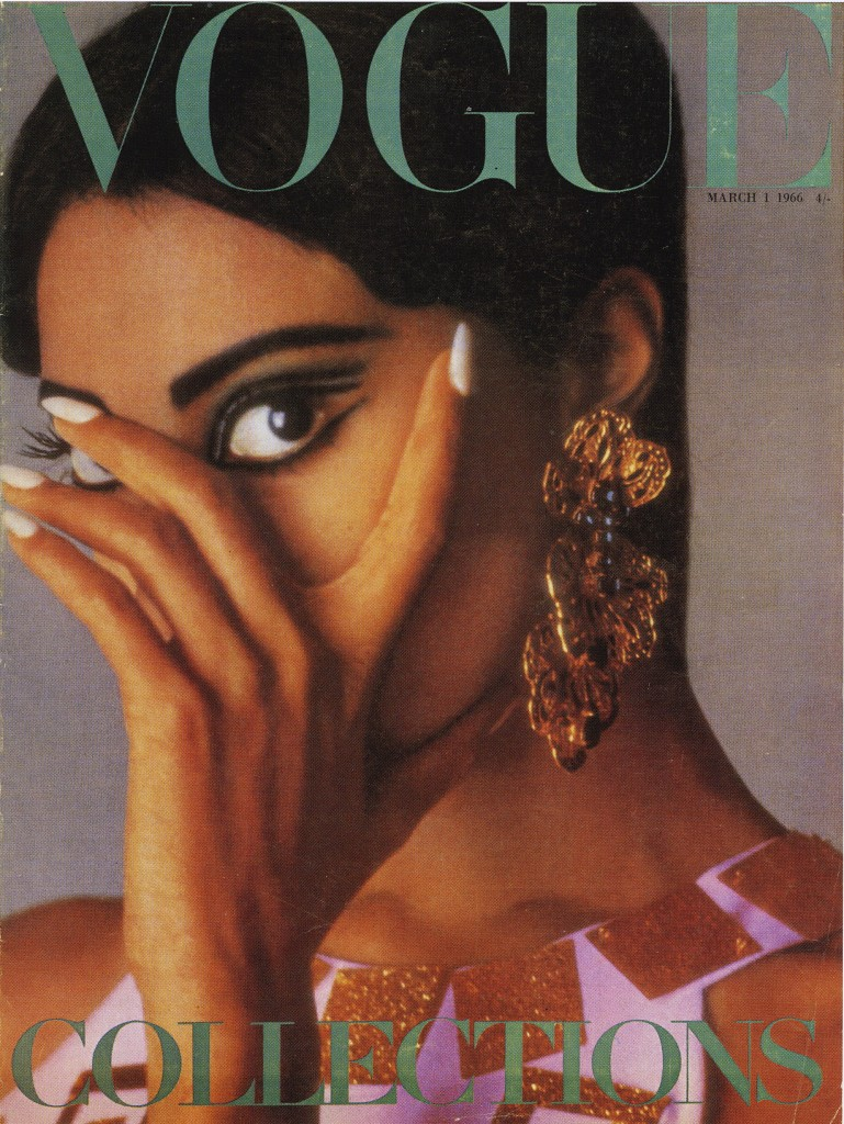 On March 1 1966 Donyale Luna made history as the first black woman to appear on the cover of VOGUE (UK Edition).