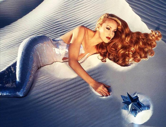 JERRY HALL FOR ANGEL BY THIERRY MUGLER