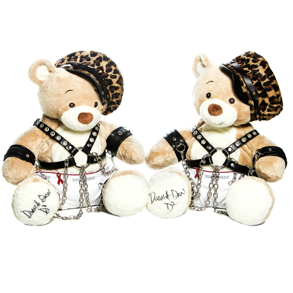 Bobbi Bear by Dean & Dan Caten for Dsquared2