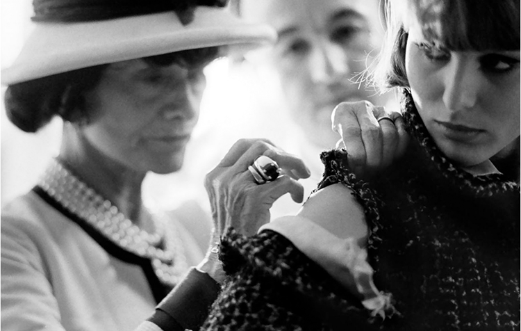 Madame Chanel at Work