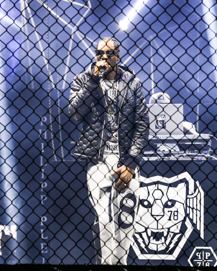 SNOOP DOG PERFORMING FOR PHILIPP PLEIN (Fall Winter 2015/16