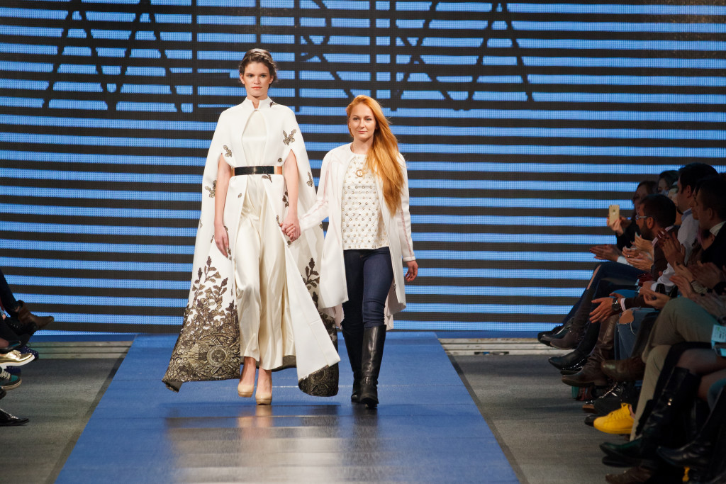 GALINA DROZD of Russia wins the European Fashion Talents Design Competition