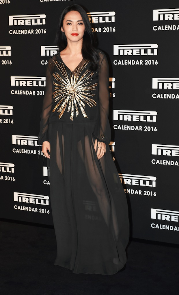 LONDON, ENGLAND - NOVEMBER 30: Yao Chen attends the Gala Evening To Celebrate The Pirelli Calendar 2016 By Annie Leibovitz at The Roundhouse on November 30, 2015 in London, England. (Photo by Stuart C. Wilson/Getty Images)