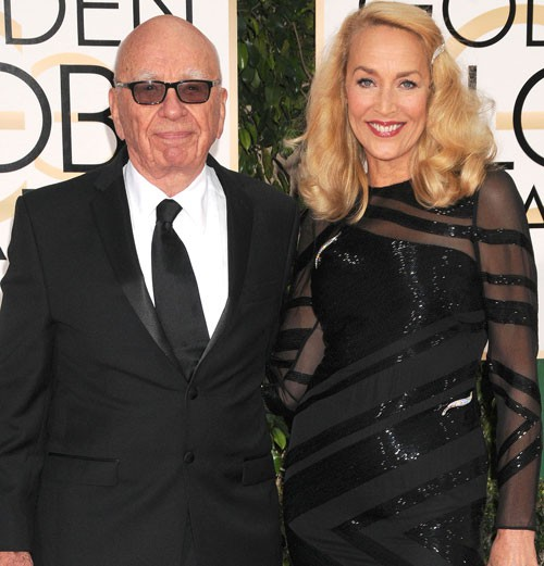 LEGENDARY SUPERMODEL JERRY HALL & BILLIONAIRE RUPERT MURDOCK TO WED