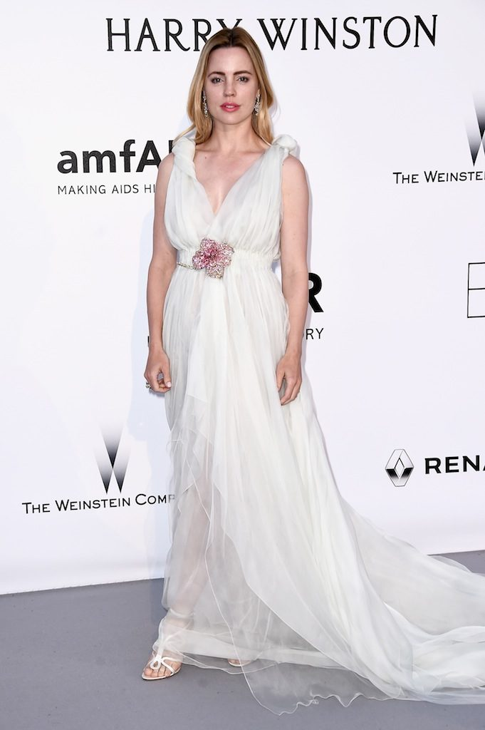 MELISSA GEORGE IN SCHIPARELLI AT AmFAR GALACinema Against AIDS Gala at Hotel du Cap-Eden-Roc on May 19, 2016 in Cap d'Antibes, France.  (Photo by Ian Gavan/Getty Images)