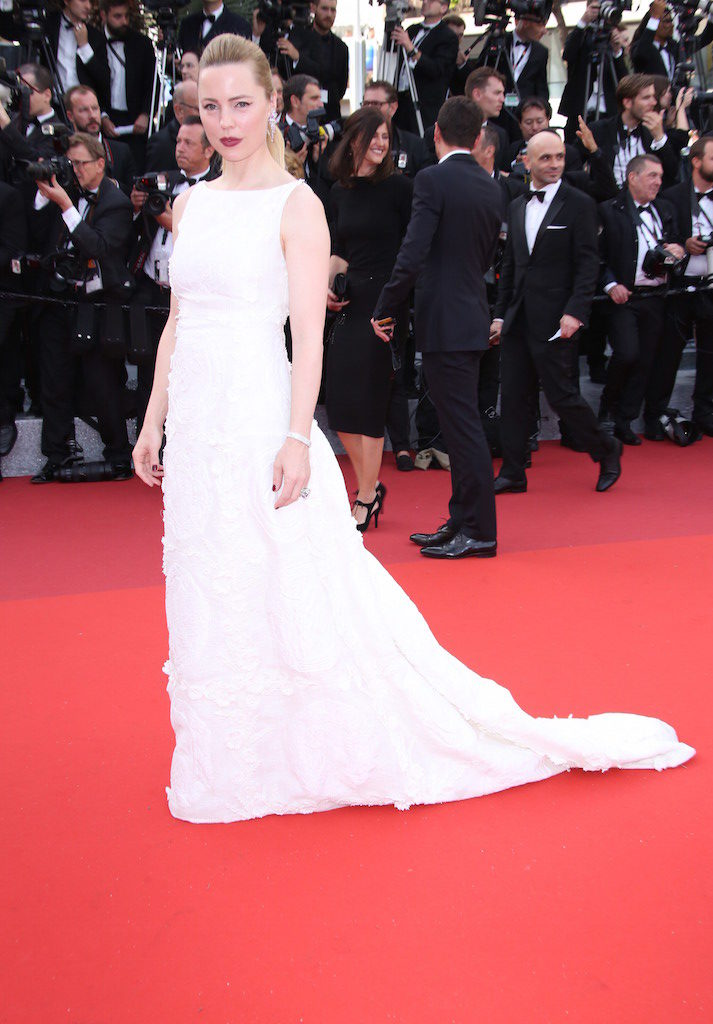 MELISSA GEORGE IN SCHIAPARELLI HAUTE COUTURE AT 69th CANNES FILM FESTIVAL