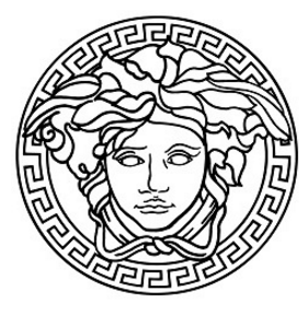VERSACE'S FAMED MEDUSA'S HEAD